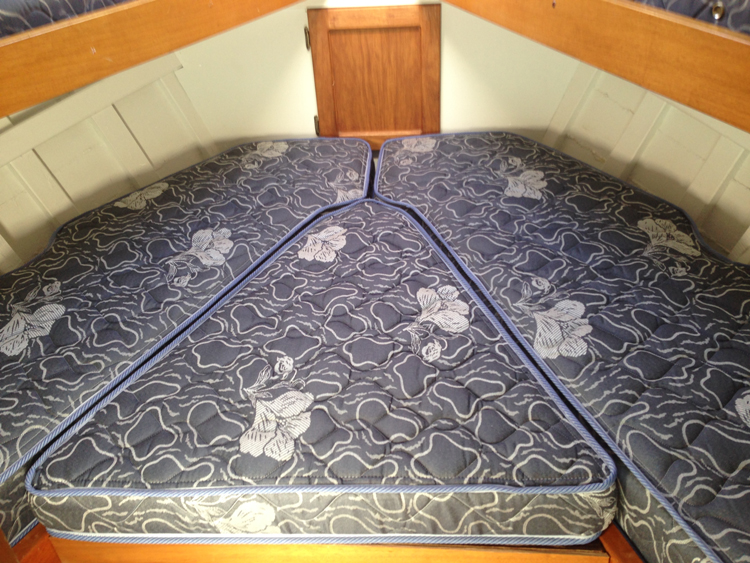 Made To Measure Boat Mattresses Boat Bedding